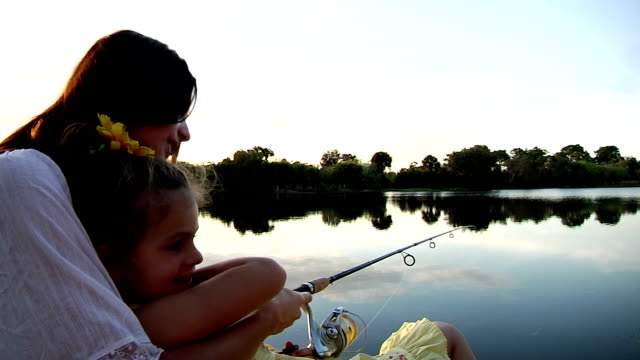 Mother Daughter Fishing video