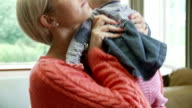 Mother Suffering From Post Natal Depression video