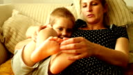 Mother with her son video