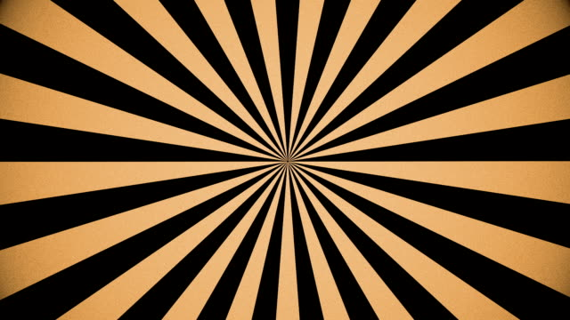 Motion Background Retro PinWheel Seamless Looping Slow video