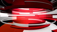 3D Motion Graphic Curves Abstract Animation video