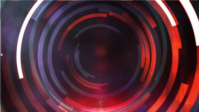 Motion target abstract background - red / purple video