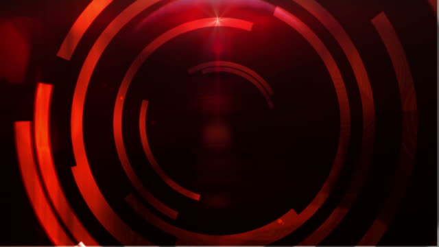 Motion target abstract background - red video