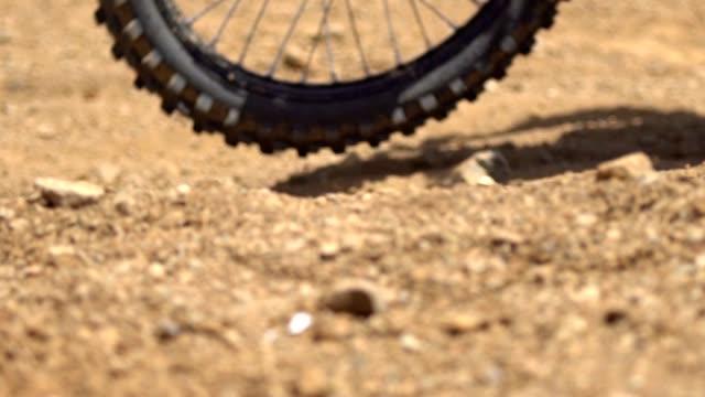 Motocross Race Close up detail video