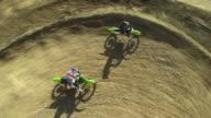 HD CRANE: Motocross Racing video