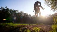 Motocross rider video