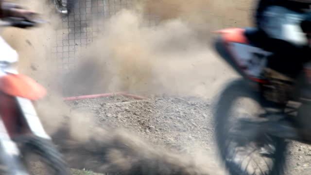 motocross start video