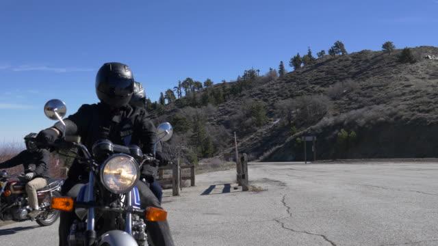Motocycle riding video
