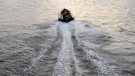 Motor boat race in St. Petersburg, Russia video