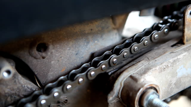 motorcycle, chain transfer video