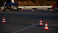 Motorcycle Driving Lessons Moto Gymkhana Motorcyclists video