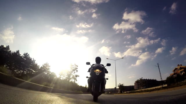 Motorcycle Ride video