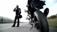 Motorcycle Ride video