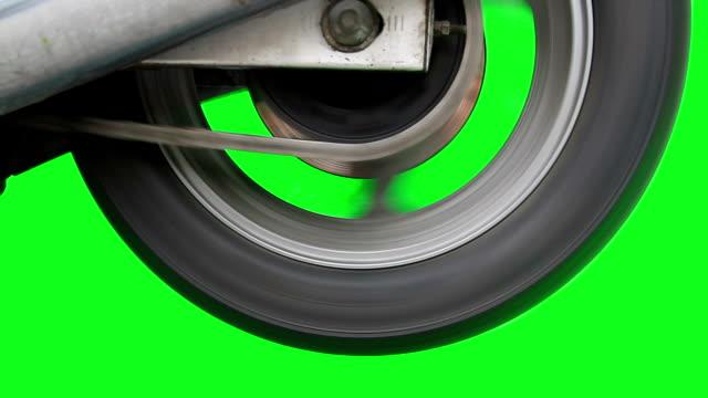 Motorcycle Wheel video
