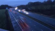 UK Motorway Timelapse - HD video