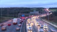 Motorway timelapse video