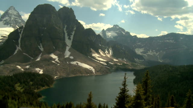 Mount Assiniboine and lakes video