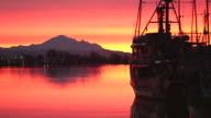 Mount Baker, Fishboats at Dawn, Steveston video