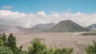 Mount Bromo volcano, East Java, Indonesia. video
