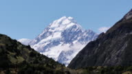Mount Cook seen from the Hooker Valley. video