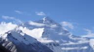 Mount Everest HD timelapse video. Tibet. China video