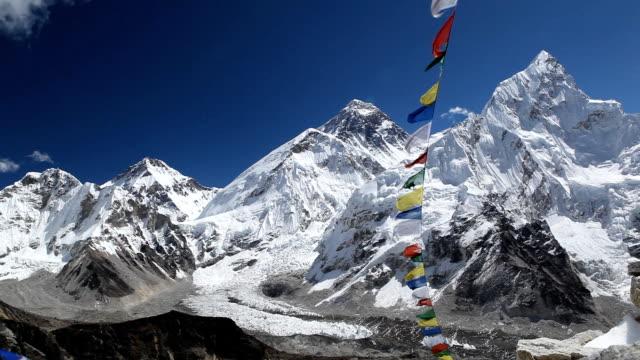 Mount Everest, mountains landscape video