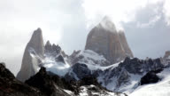 Mount Fitz Roy, Los Glaciares National Park, Patagonia, Argentina video
