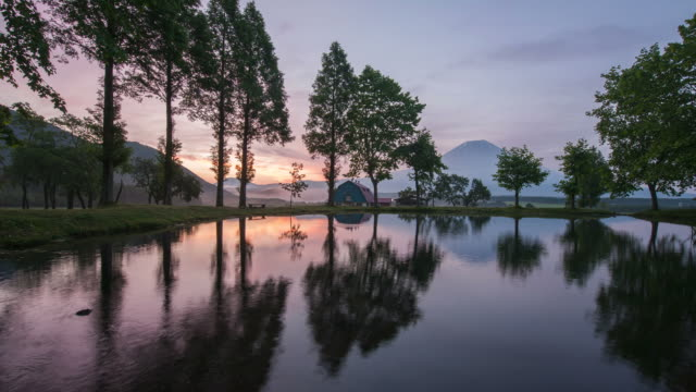 Mount Fuji video time lapse video