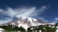Mount Rainier, time lapse video