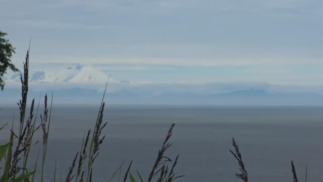 Mount Redoubt and Mount Iliamna video