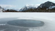 Mount Rundle, Banff in the winter video