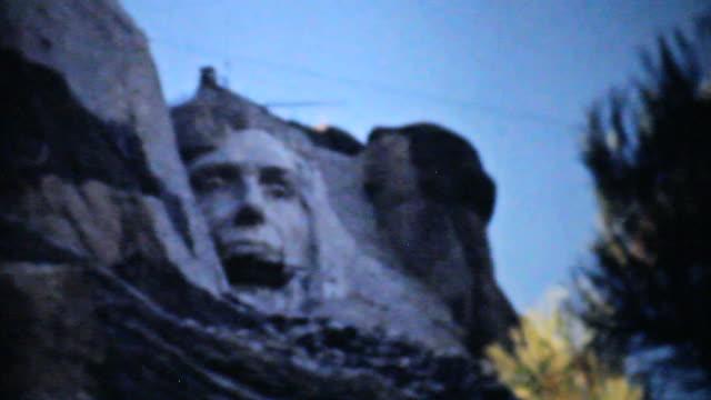Mount Rushmore Being Built-1940 Vintage 8mm film video