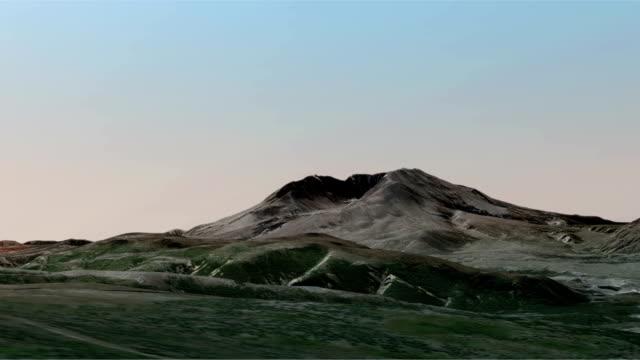 Mount St. Helens Aerial Zoom In video