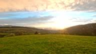 Mountain After Rain Sunset video