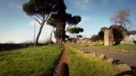 Mountain Bike on the Via Appia Antica video