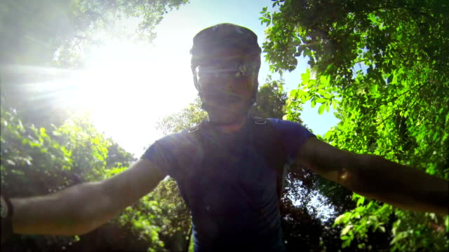 Mountain Bike Video: biker view video