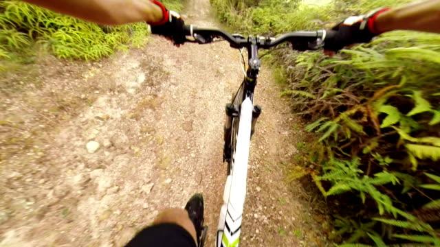 Mountain Bike POV video