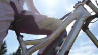 Mountain Biker Portrait video