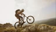 TS SLO MO mountain biking on the rocky top video