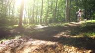 Mountain Biking (Super Slow Motion) video
