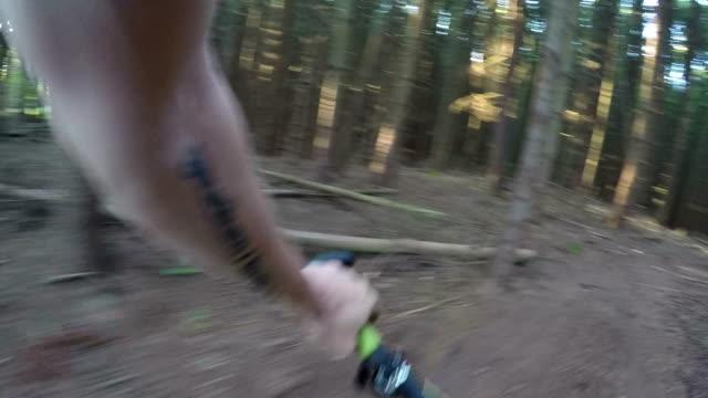 XC mountain biking video