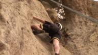 Mountain Climbing, Underneath - HD & PAL video