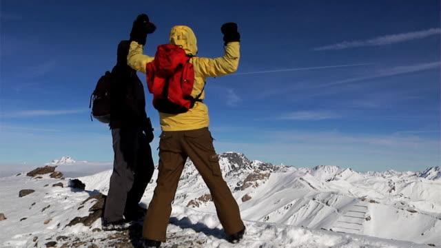 Mountain climbing (HD 1080) video