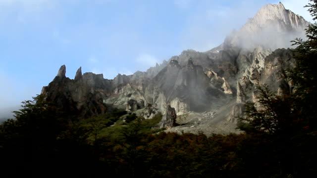 mountain dark to light video