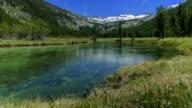 Mountain Glacier River video