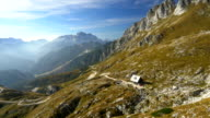 AERIAL Mountain Hut video
