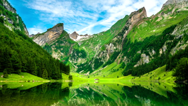 Mountain Lake, Switzerland video