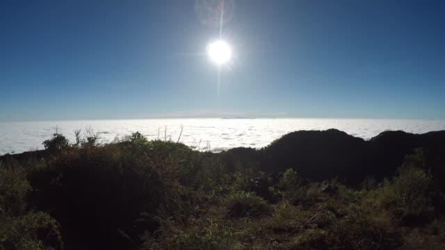 Mountain Landscape at Sunrise video