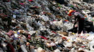 mountain of garbage video