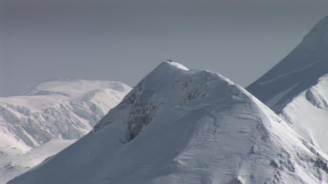 HD: Mountain peaks video
